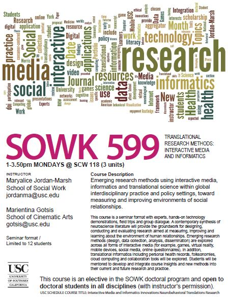 sowk599 course